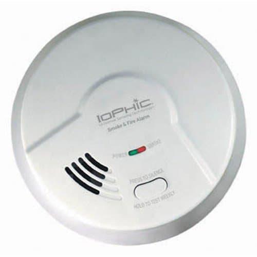 USI IoPhic Smoke & Fire Alarm, 9V Battery Operated