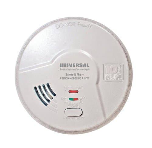 USI 3-in-1 Smoke, Fire, & CO Smart Alarm, Sealed Battery