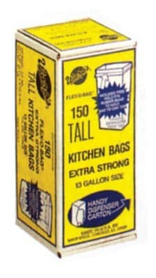 13 Gallon Heavy Duty Trash Can Liners