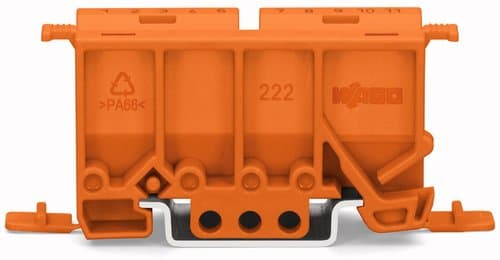 Wago Mounting Carrier For All Lever-nuts, Orange