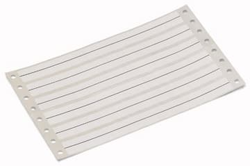 Wago White Self-Adhesive Marking Strip