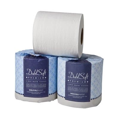 EcoSoft Universal Bathroom Tissue, 1-Ply