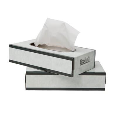 Wausau EcoSoft Facial Tissue