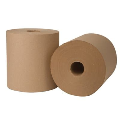 Wausau EcoSoft Green Seal Universal Roll Towels, Natural