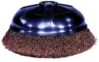 """3"""" Crimped Wire Cup Brush with .014 Bristle Diameter"""