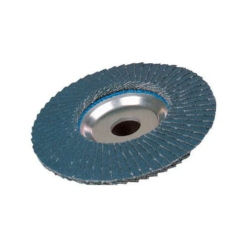 """4-1/2"""" Tiger Abrasive Angled Flap Disc with 80 Grit"""