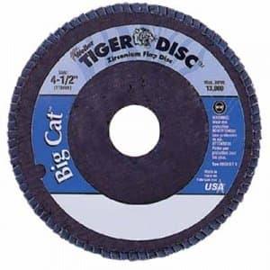 "4-1/2"" Big Cat High Density Abrasive Flap Disc with 60 Grit"