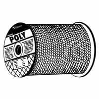 5/8 X 300 Monofilament Twisted Yellow Poly Rope