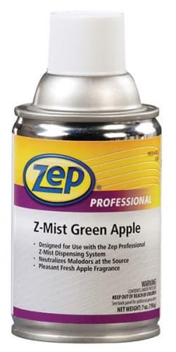 Zep Z-Mist Metered Aerosol Air Freshener Green Apple 6.5 Ounces
