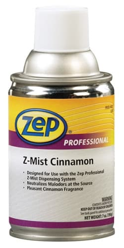 Zep Z-Mist Metered Aerosol Air Freshener Cinnamon 6.5-oz