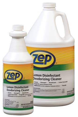 Zep Zep Professional Lemon Disinfectant Deodorizing Cleaner 32-oz