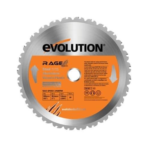 "Evolution  14"" Multi Purpose Chop Saw Blade"