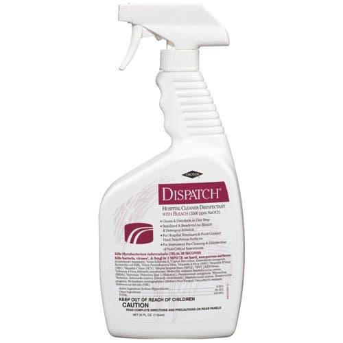 Dispatch Hospital Cleaner Disinfectant w/ Bleach 32 oz Trigger Spray