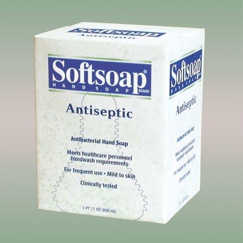 Colgate Softsoap Antiseptic Hand Wash Refills 800 mL