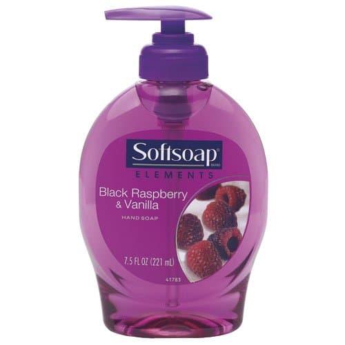 Colgate Softsoap Black Raspberry and Vanilla Hand Soap 7.5 oz.