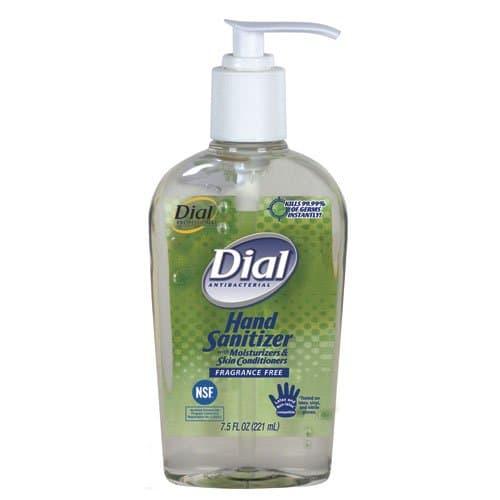 Dial Dial Unscented Instant Hand Sanitizer w/ Moisturizer 7.5 oz.