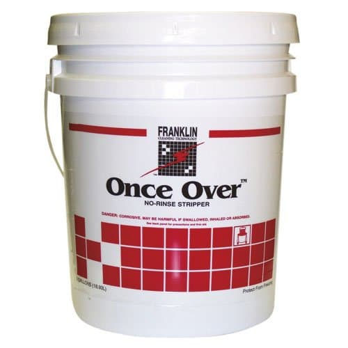 Franklin 5 Gallon Once Over Mint Scented Rinse-Free Floor Stripper