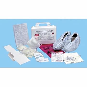 Boardwalk OSHA Standard Bloodborne Pathogen Cleanup Kit