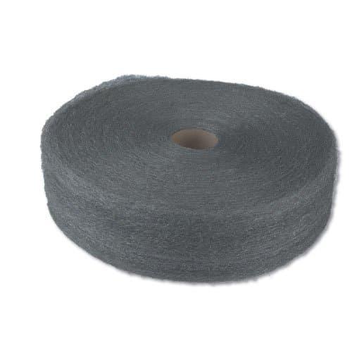 """Global Material #2 Med. Coarse Grade 4"""" Steel Wool Reel"""