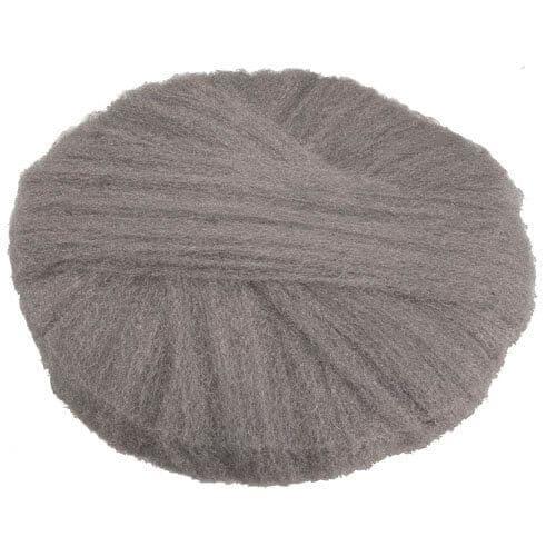 Global Material Fine Grade 17 In Radial Steel Wool Floor Pads