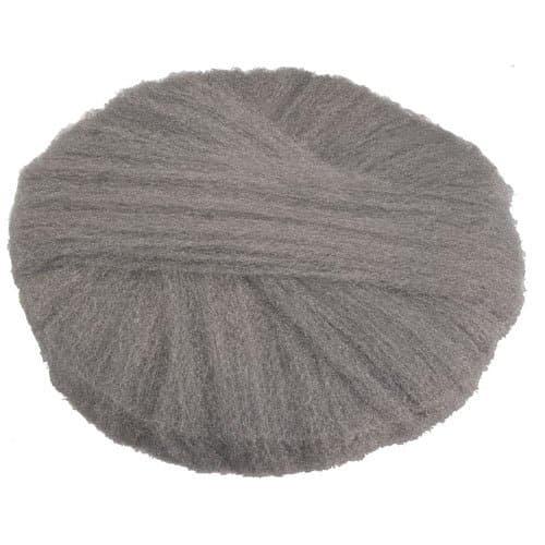 Global Material Fine Grade 20 In Radial Steel Wool Floor Pads