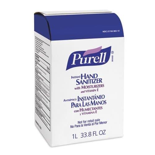 GOJO PURELL NXT Instant Hand Sanitizer 1000 mL Refills 8 ct