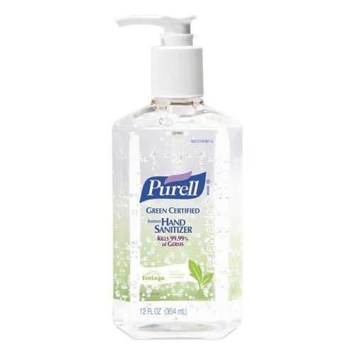 GOJO Purell Green Certified Hand Sanitizer 12 oz
