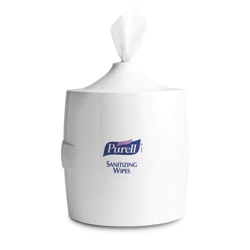 GOJO Purell White Sanitizing Wipes Wall Dispenser