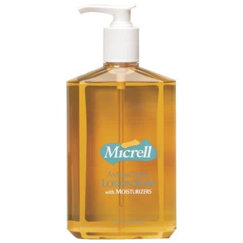 GOJO Micrell Antibacterial Lotion Soap 12 oz. Pump