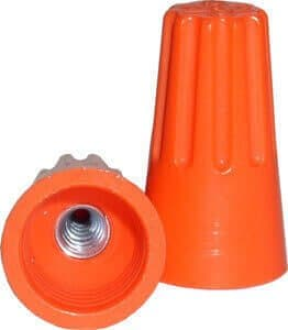 NSI Orange, Twist-On Wire Connectors, 22-14 AWG, Pack of 500