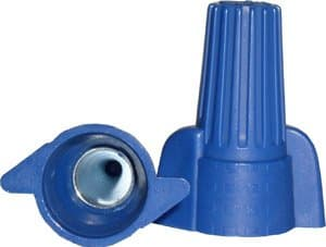 NSI Blue Winged Wire Connectors, Easy-Twist 14-6 AWG