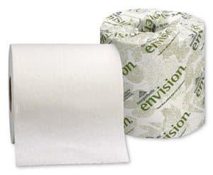 Georgia-Pacific Envision White 1-Ply Bath Tissues