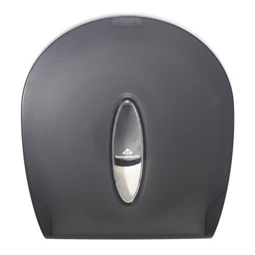 Georgia-Pacific Translucent Smoke Jumbo Jr. Bathroom Tissue Dispenser