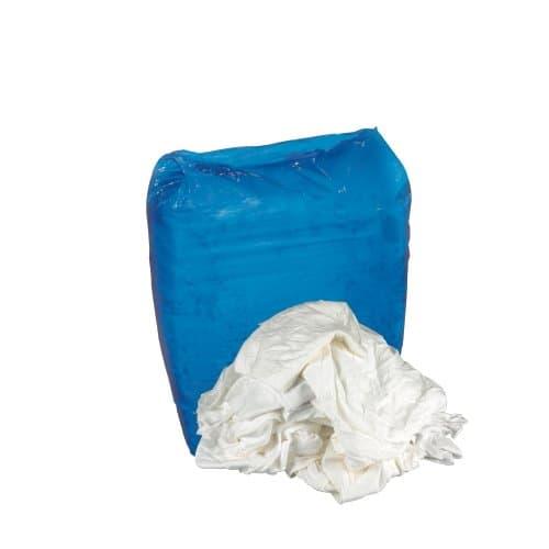 Hospeco Bleached White T-Shirt Reusable Rags