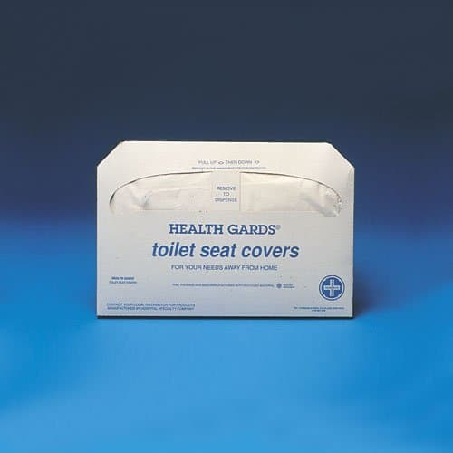 Hospeco Gards White Half-Fold Toilet Seat Covers