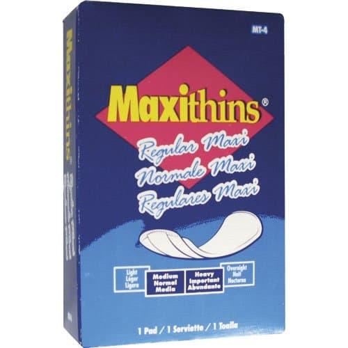 Hospeco #4 Maxithins Sanitary Napkins