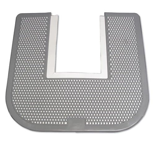 Impact Gray Orchard ZingScent Disposable Washroom Floor Mats for Toilets