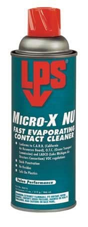 LPS Micro-X Fast Evaporating Contact Cleaner