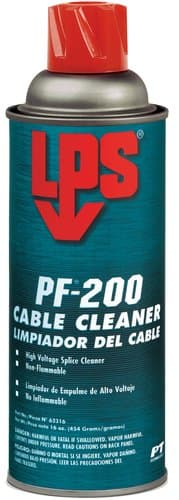 LPS PF 200 Cable Cleaner, 16-oz