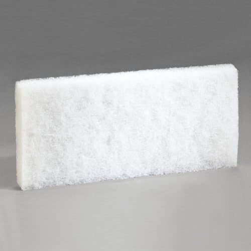 3M Scotch-Brite White Cleansing Pad for Doodlebug Cleaning System
