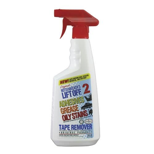 Motsenbockers Lift Off #2 Adhesives, Grease & Oily Stains Tape Remover 22 oz.