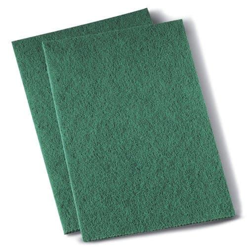 Boardwalk Green Medium-Duty Scour Pad 20 ct
