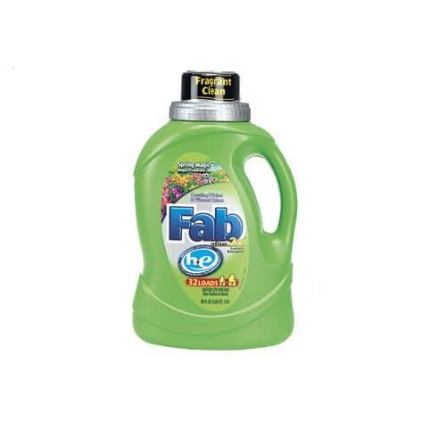 Fab 2X HE Laundry Detergent 50 oz.