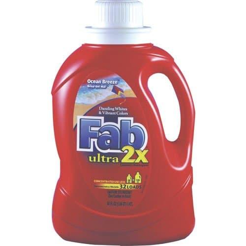 Phoenix Fab 2X Ocean Breeze Liquid Laundry Detergent 50 oz