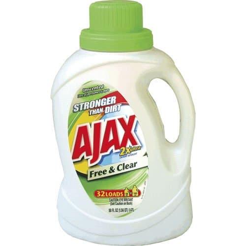 Phoenix AJAX 2X Free & Clear Liquid Laundry Detergent 50 oz