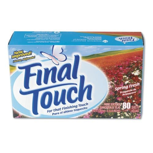 Phoenix Final Touch Fresh Scent Fabric Softener Sheets