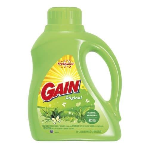 Procter & Gamble Gain Ultra Liquid Laundry Detergent 50 oz.