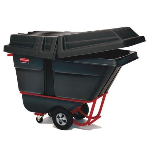 Rubbermaid Black 1250 lb Capacity Standard-Duty Tilt Truck