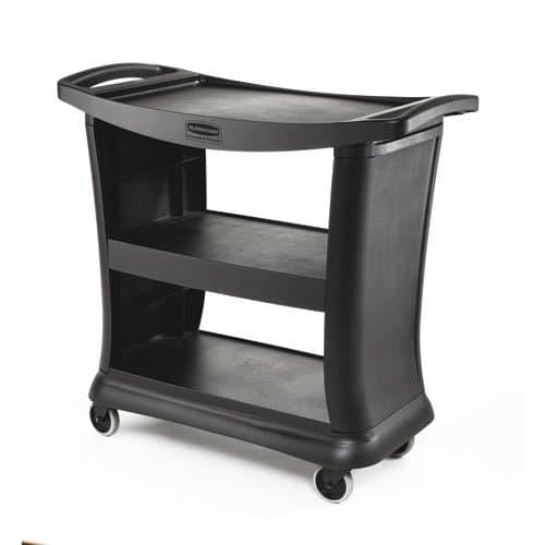 Rubbermaid Black 300 lb Executive Service Carts