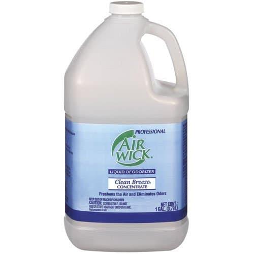 AIR WICK Clean Breeze Liquid Deodorizer 1 Gal